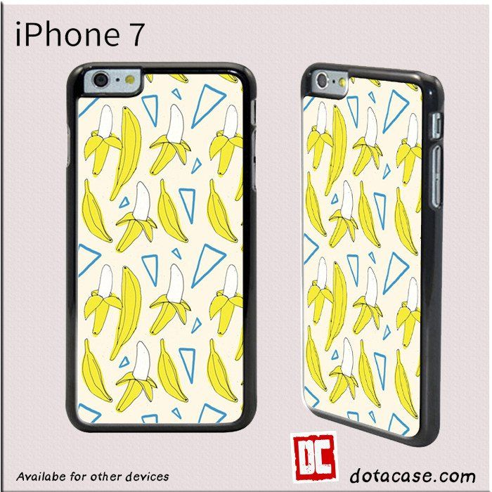 Banana Pattern For Iphone 4/4S/5/5C/5S/6/6 Plus/7/7 Plus Case