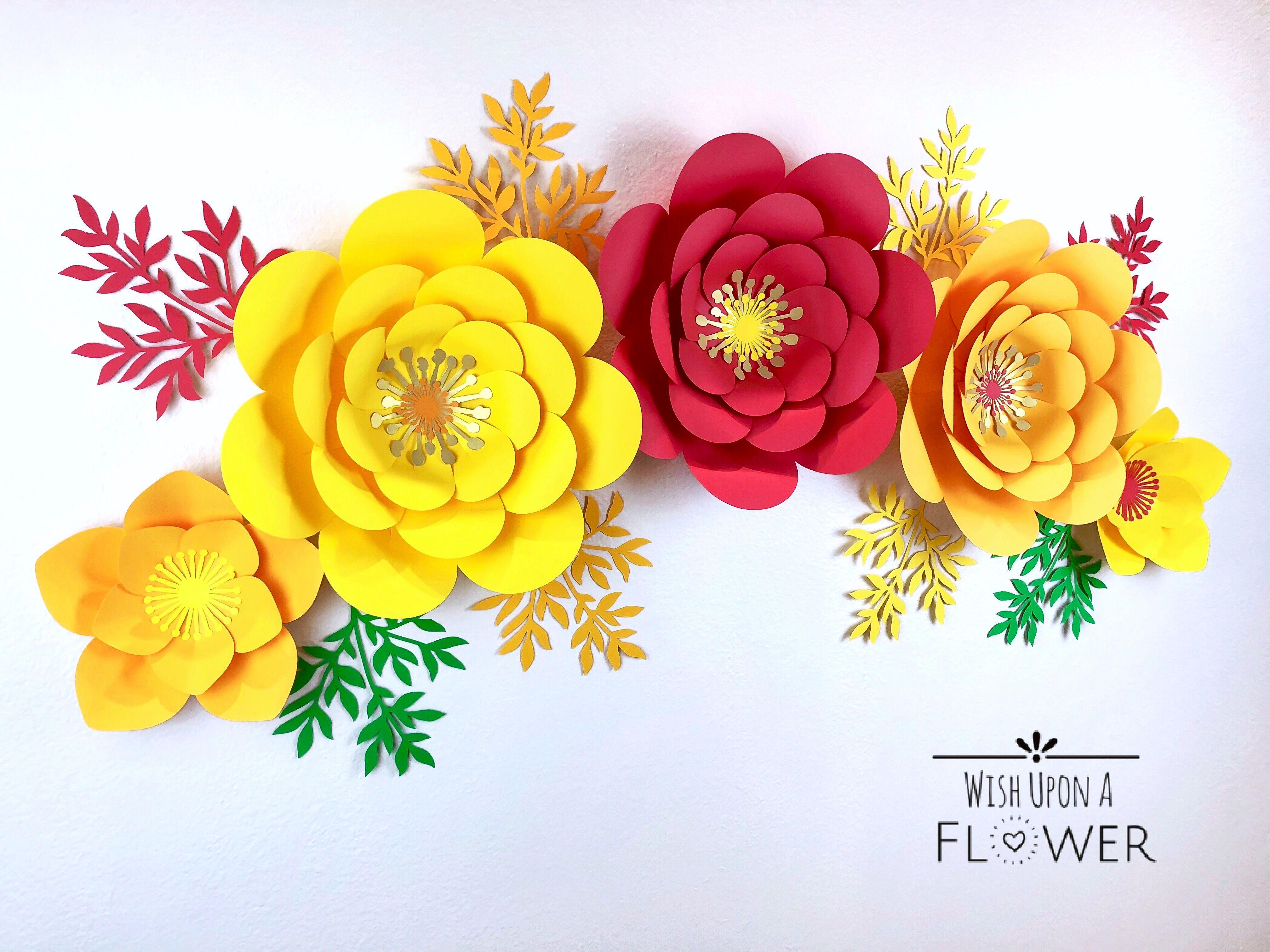 Pin On Paper Flower Diy