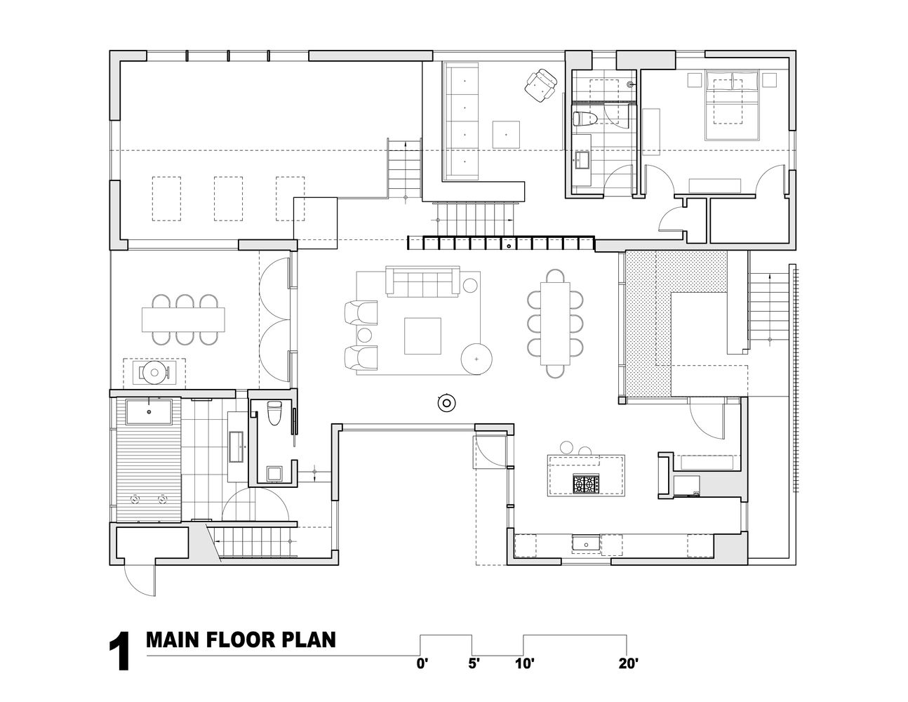 Gallery Of Artist Residence Heliotrope Architects 18 Craftsman Floor Plans Floor Plans Architect