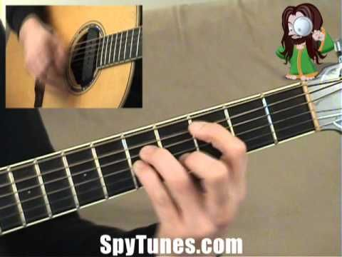 Let It Snow Guitar Tutorial Intermediate Youtube Guitar Tutorial Guitar Let It Be