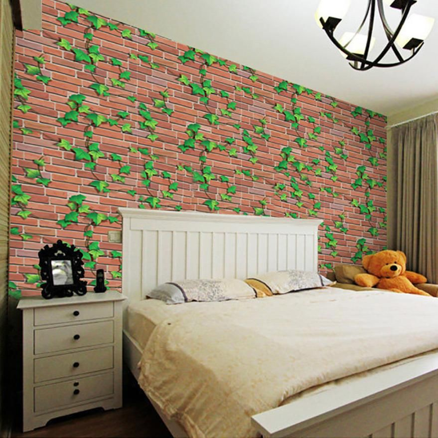 universe of goods buy 3d wall paper brick stone rustic on wall stickers 3d id=76650