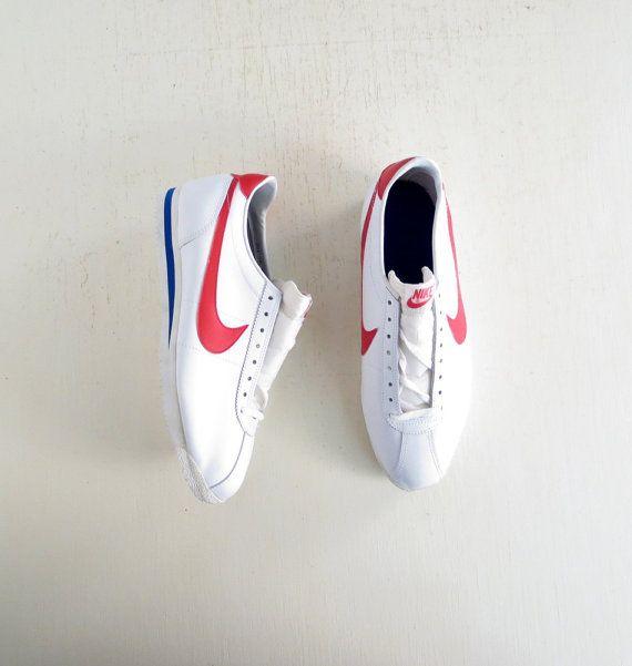 Vintage Nike Cortez / Men's Nike Shoes / 80s Nike Shoes / Deadstock Shoes /  Size 15