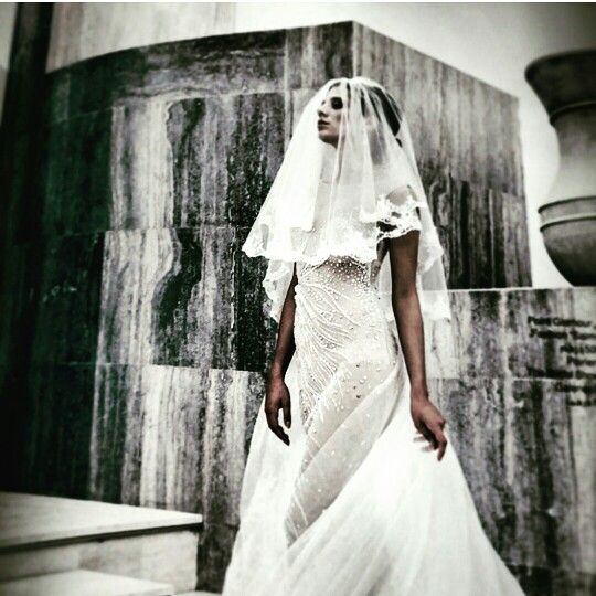 Wedding dress  By selma karoui