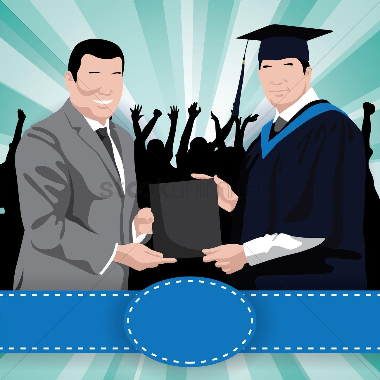 Photo of Graduation wallpaper vector illustration , #sponsored, #wallpaper, #Graduation, …