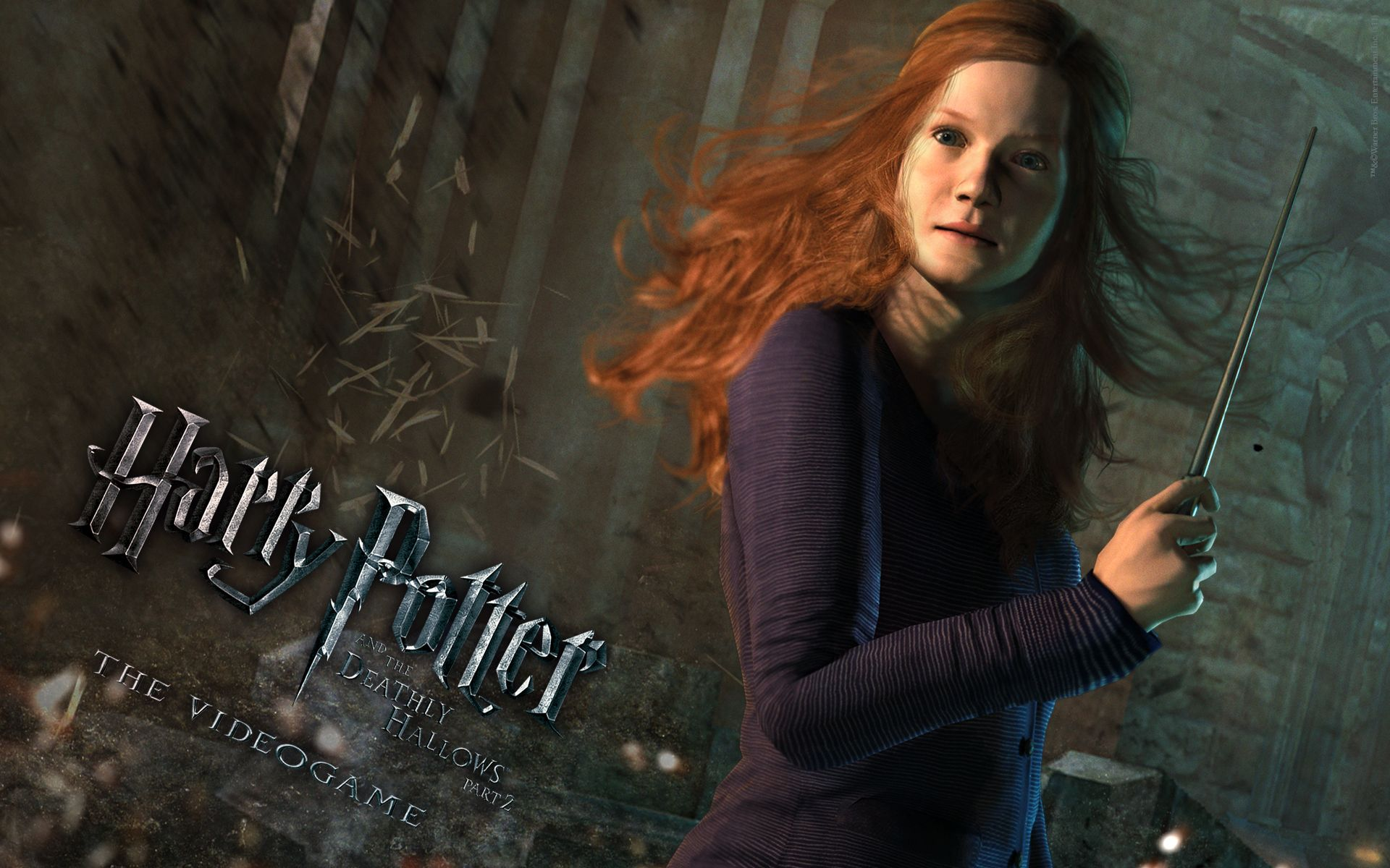 harry potter deathly hallows windows theme | 3d wallpapers