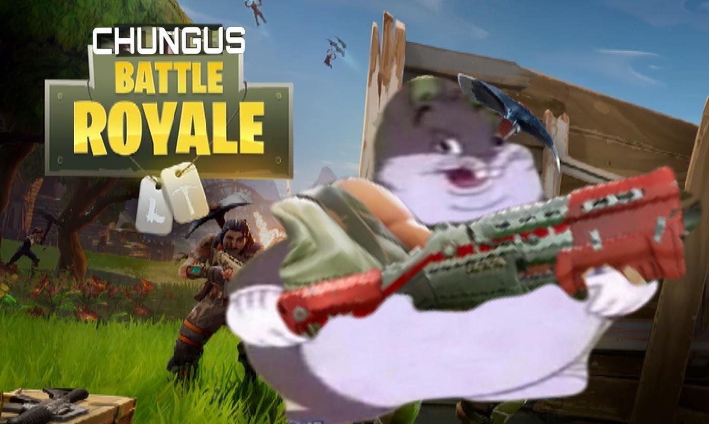 Chungus Battle Royale Memes Funny Memes Cartoon Memes