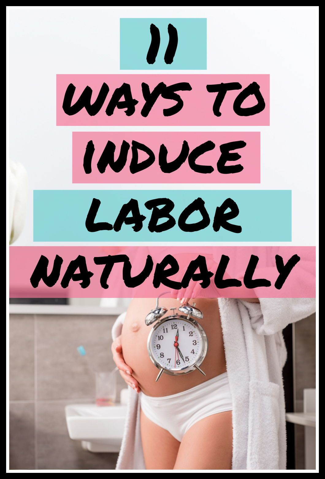 Are you pregnant and safely past 37 weeks and dying to meet your newborn baby? Or maybe you're 38 weeks.. Or maybe you're overdue! These techniques can be used at home or at the hospital. They are fast and work quickly. Using tea, essential oils, pineapple and more. Get ready to meet your baby! #labor #newmom #birth #pregnancy