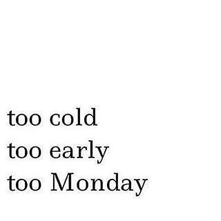I normally don't complain about Mondays but after a long weekend and a night... - brottbacken #3dayweekendhumor