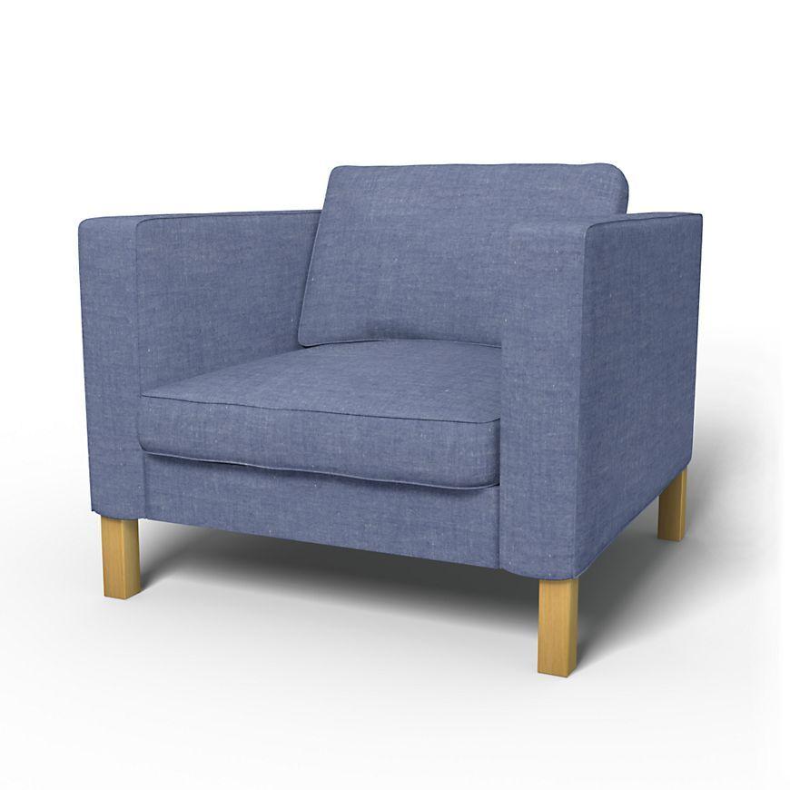 Karlstad, Armchair Covers, Armchair, Regular Fit - Bemz ...