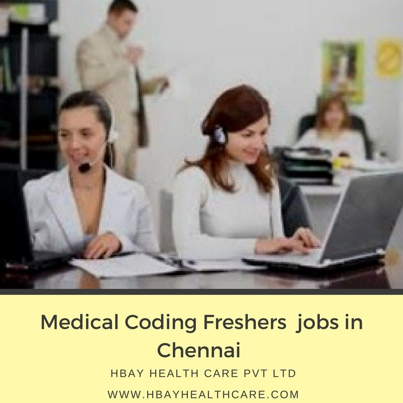 hbay health care offering medical coding freshers jobs in Chennai