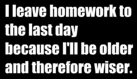 #homework ugh - is it Friday yet??