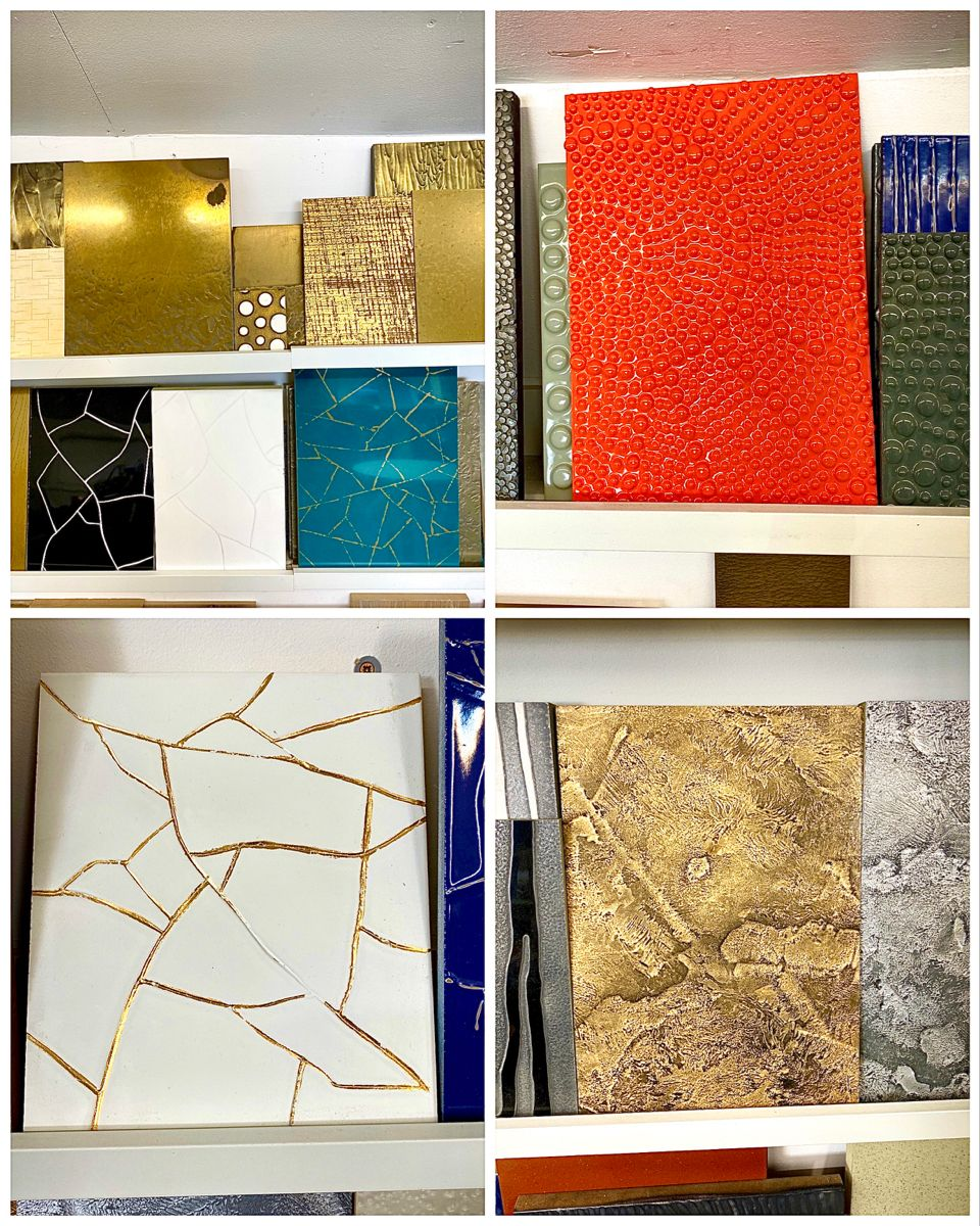 Look at these amazing samples from @costello_bespoke. I very much enjoyed chatting to Sam yesterday about his work, the finishes he produces are so unique and special. Adding such beautiful materials into your home creates such personal, unique interiors. I am very much looking forward to incorporating these finishes in my client's homes! #uniquedesigns #interiorfinishes #interiordesign #surreyhomes #interiordesignlondon #uniqueinteriors #homedesign #bespokeinteriors #inspiringinteriors #resin