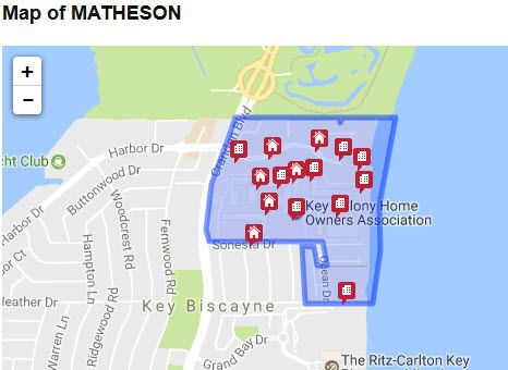 Matheson Map And Homes For Sale By Owner In Matheson Matheson Key