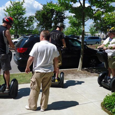 Myrtle Beach Segway Tours Look No Hands All Guys And S Enjoying Gliding Spinning On A With