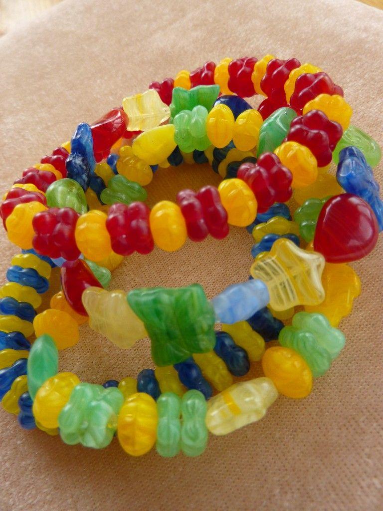 Jelly Bean Bracelets The Supermums Craft Fair