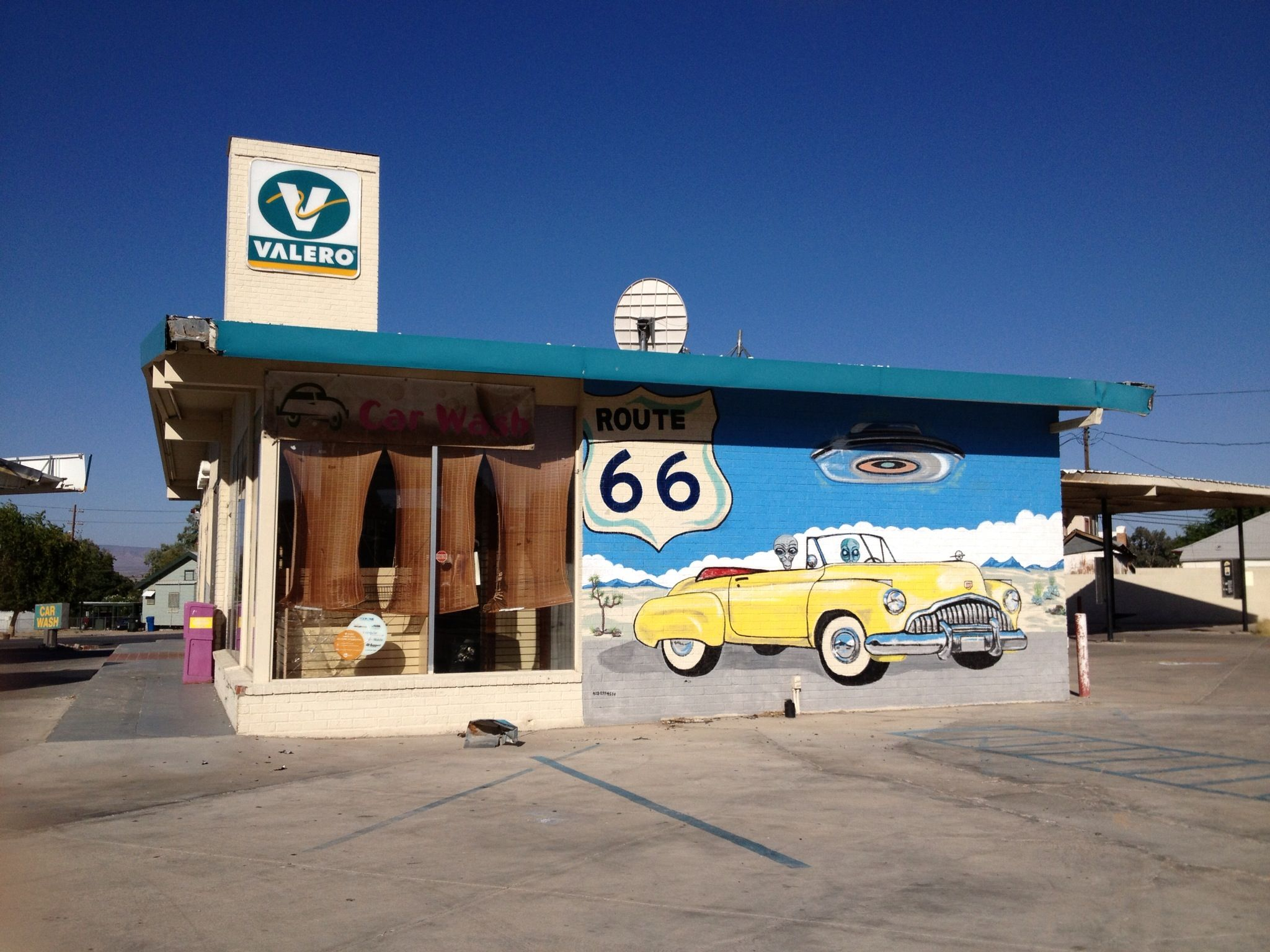 my first visit to needles. driving up and down route 66 for business