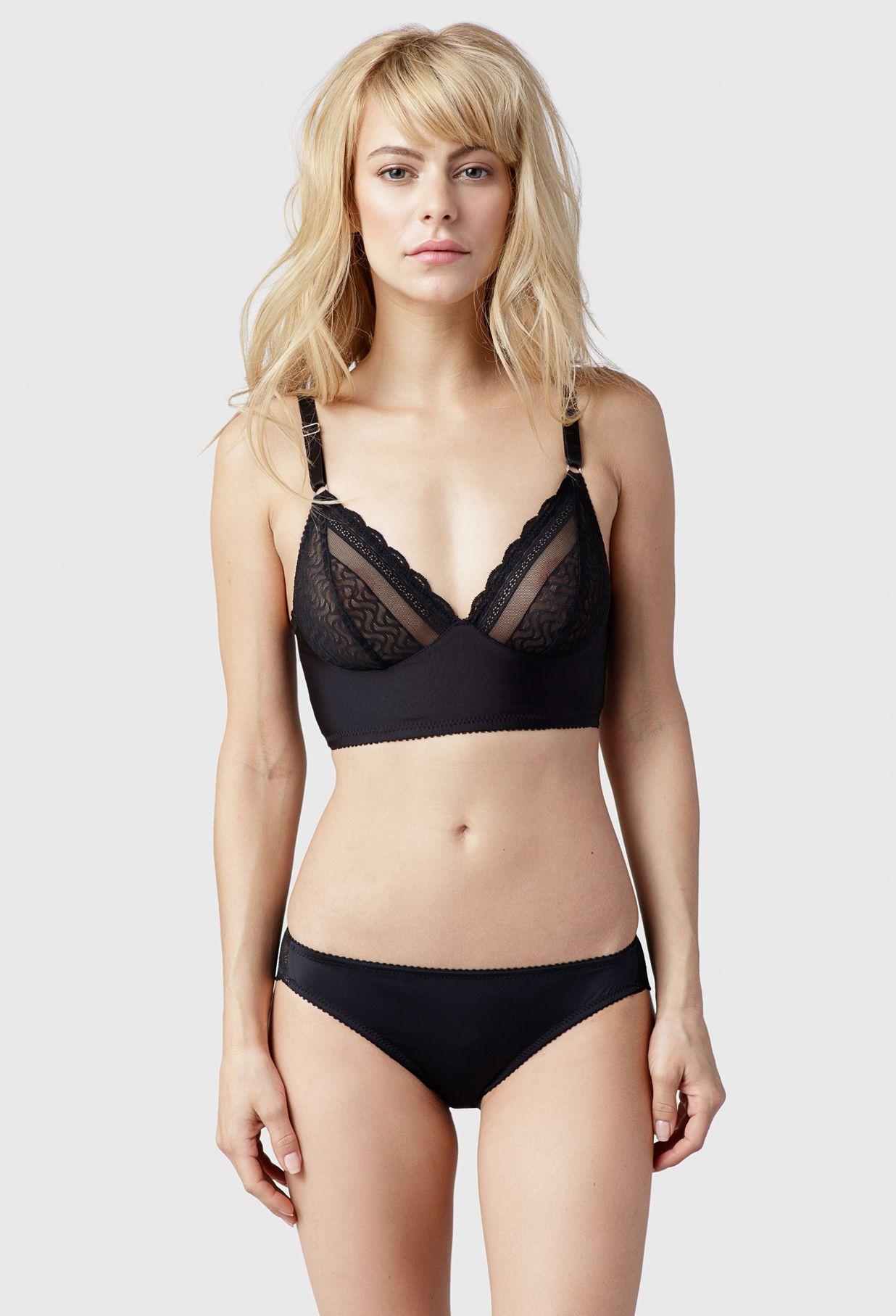01d10be687 Fortnight Lingerie s Ivy Longline is a wire-free bra