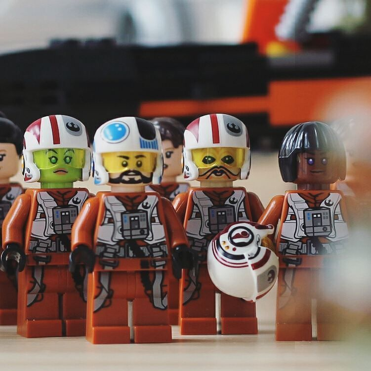 Last picture of Blue Squadron at Resistance base before the ...