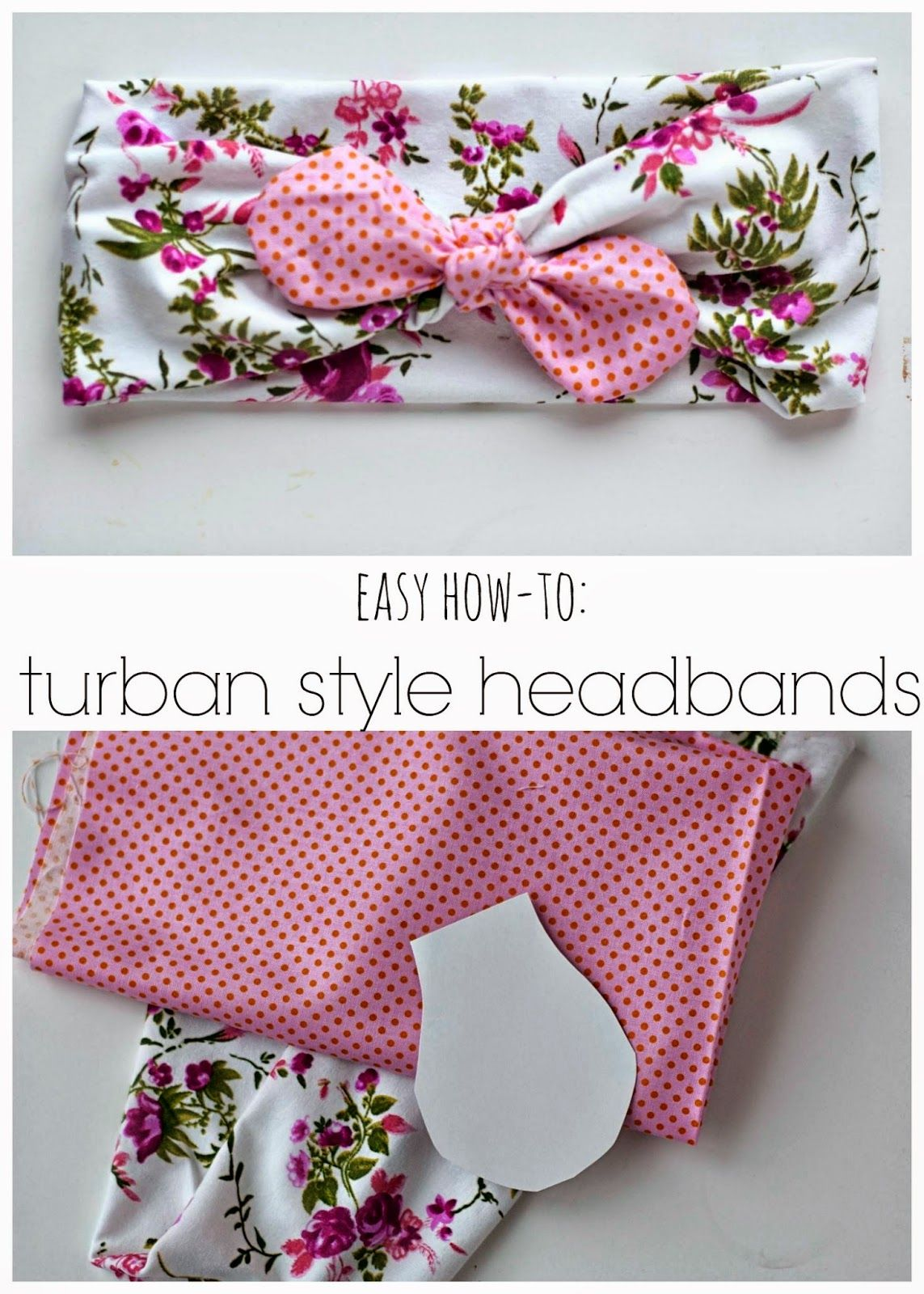 diy turban style headband tutorial n hen stirnband. Black Bedroom Furniture Sets. Home Design Ideas
