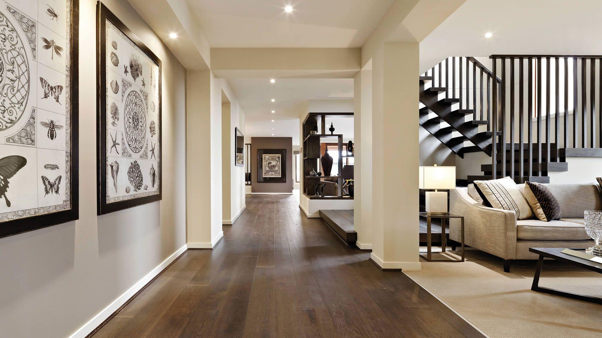 Barwon mk2 by carlisle homes 16 interior design - Como decorar un pasillo estrecho ...