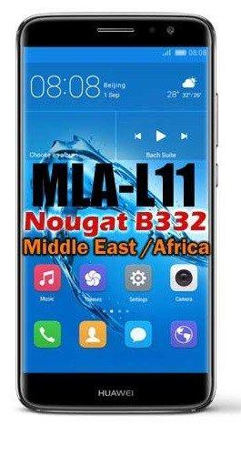 Huawei Nova Plus MLA-L11 Nougat B332 update EMUI 5(Middle East