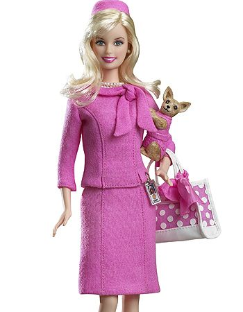 bcab37b89001d Reese Witherspoon as Elle Woods in 'Legally Blonde' Barbie ✻~BarbieWorld~✻