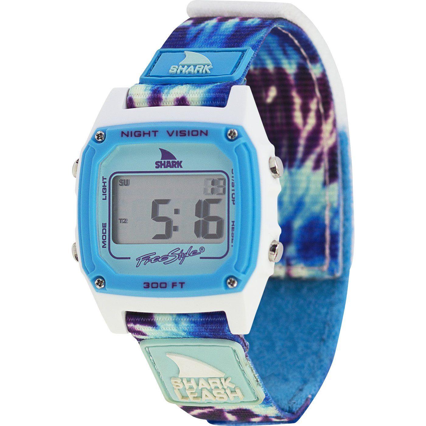 b1f3c6bc9 SHARK CLASSIC LEASH TIE-DYE BLUE DAZE// freestyle watches Relojes, Reloj  Digital