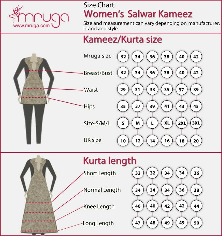Pin by Rbees on patrens | Size chart, Chart, Measurement chart