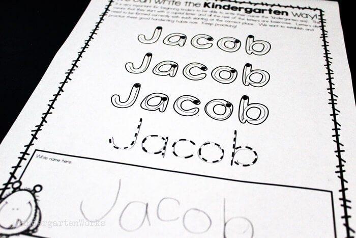 The Best Free Handwriting Font for Kindergarten ...
