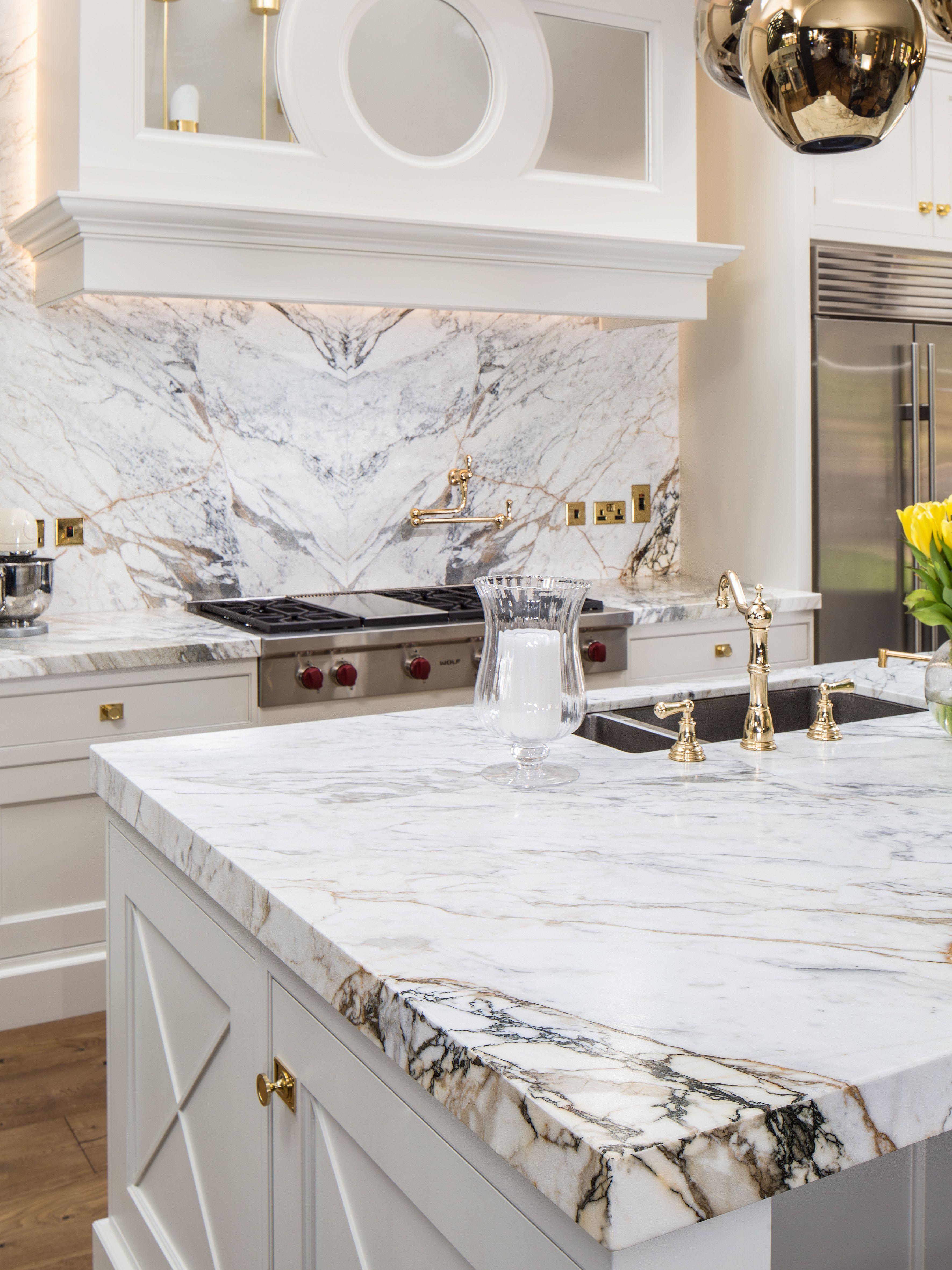 Marble Kitchen Accessories How To Decorate Counter Space Calacatta Paonazzo Kitchens Pantry Home Decor