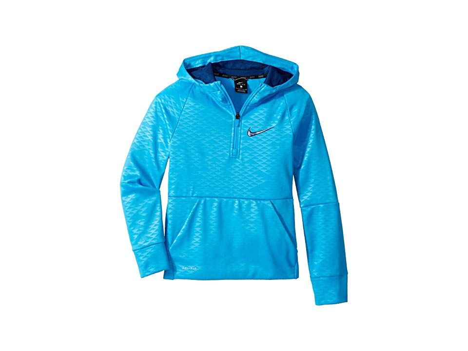 Nike Toddler Boys Blue Void Therma-FIT Lightweight Hoodie