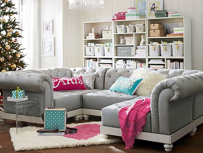 teenage lounge room furniture. cushy roll arm lounge pbteenhttpwwwpbteencomshoppingcart teen roomspb teenage room furniture