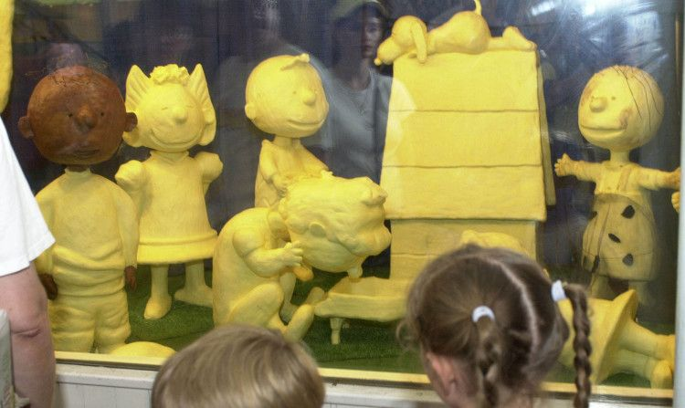 Butter Sculptures At The Iowa State Fair I Go Every Year And Have