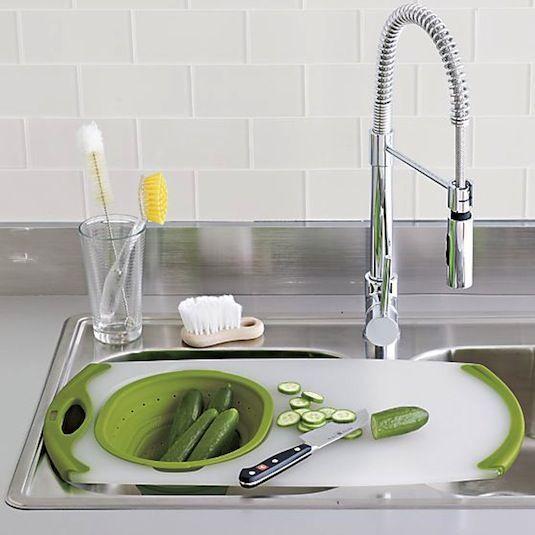 Over-The-Sink-Sieb-Board - Wasserhahn küche | Armaturen | Pinterest ...