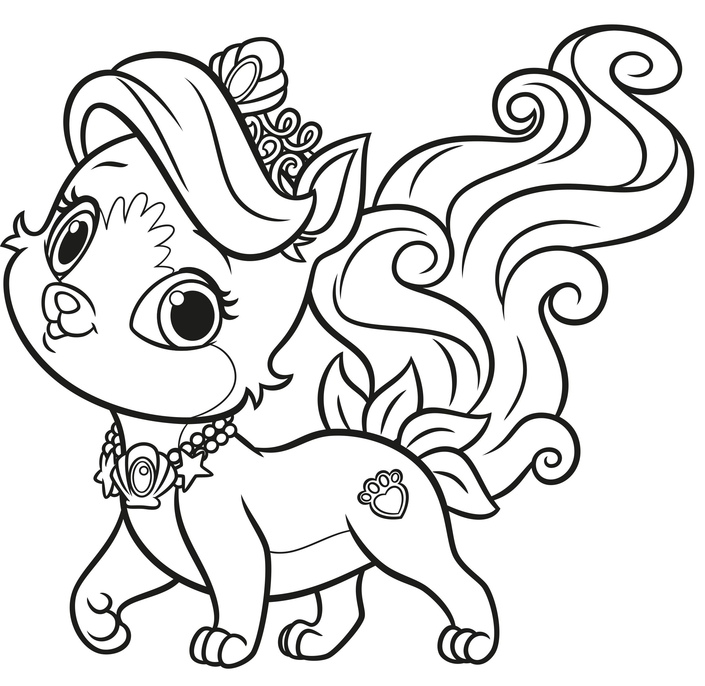 Palace Pets Malvorlage Coloring Pinterest Palace Pets