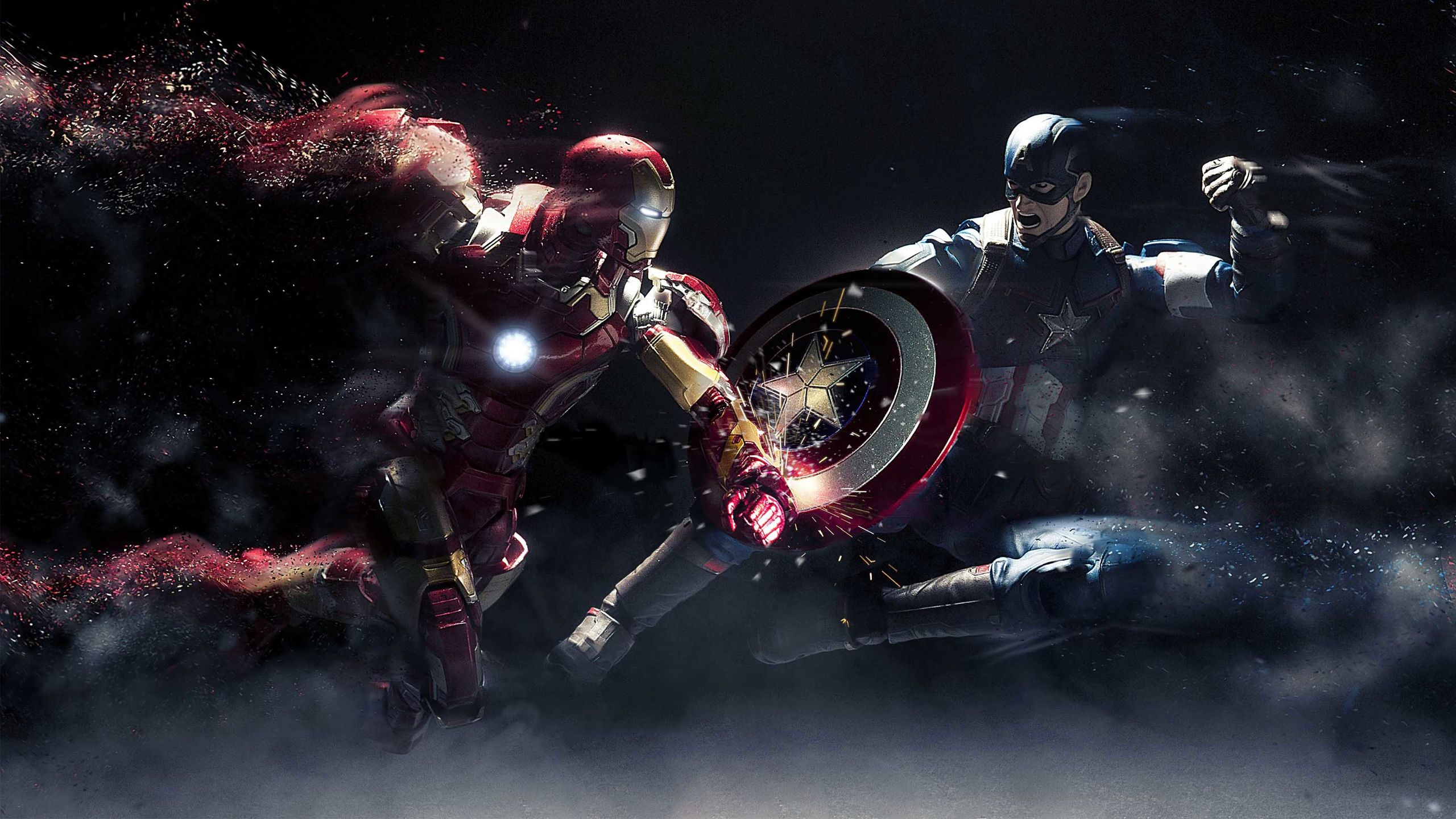 20 Captain America Vs Iron Man Wallpaper Hd Pictures And Ideas On