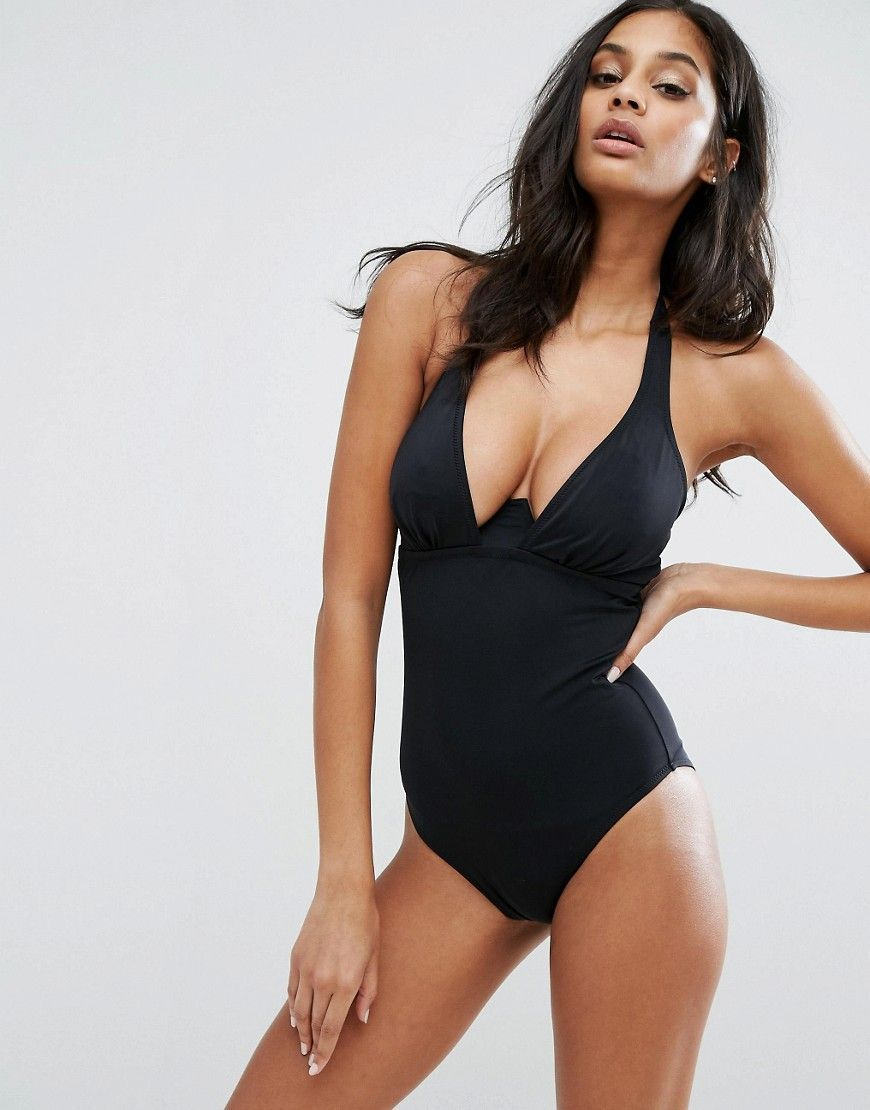 240102e40a948 Pour Moi Instaglam Swimsuit C-G Cup - Black | Products | Swimwear ...