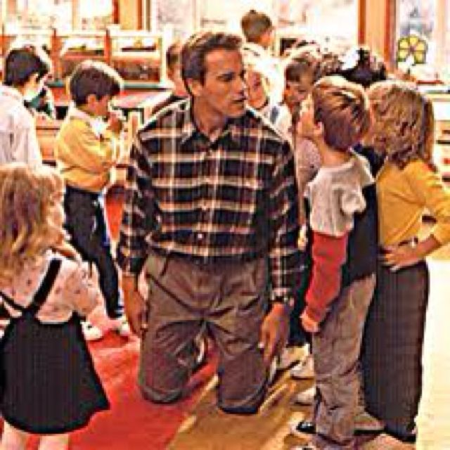 Kindergarten Cop with Arnold Schwarzenegger and Penelope