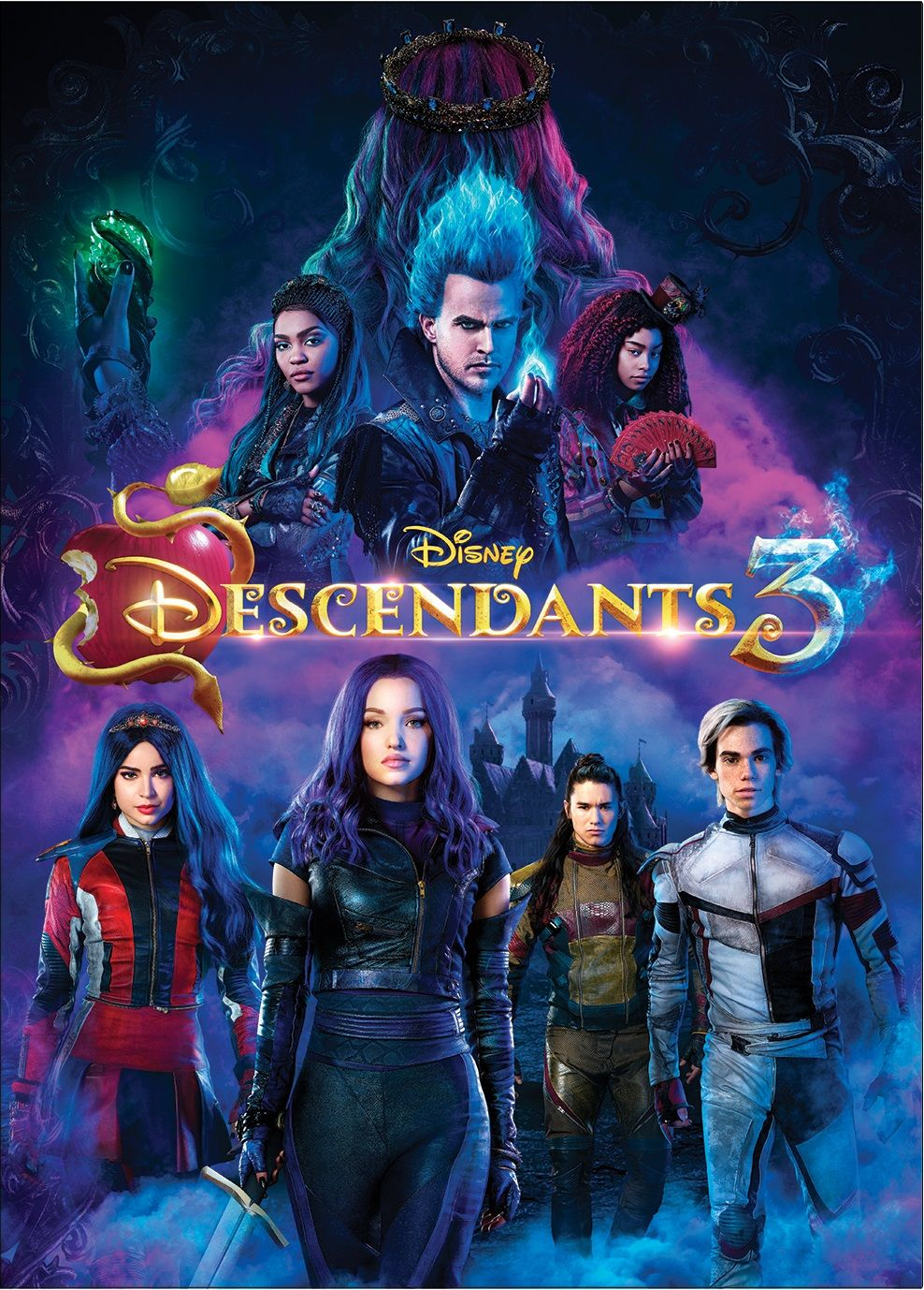 Descendants 3 Dvd Walmart Com Disney Descendants Disney Descendants 3 Disney Channel Descendants