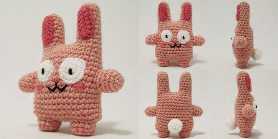 Free Pattern amigurumi Bunny by i crochet things