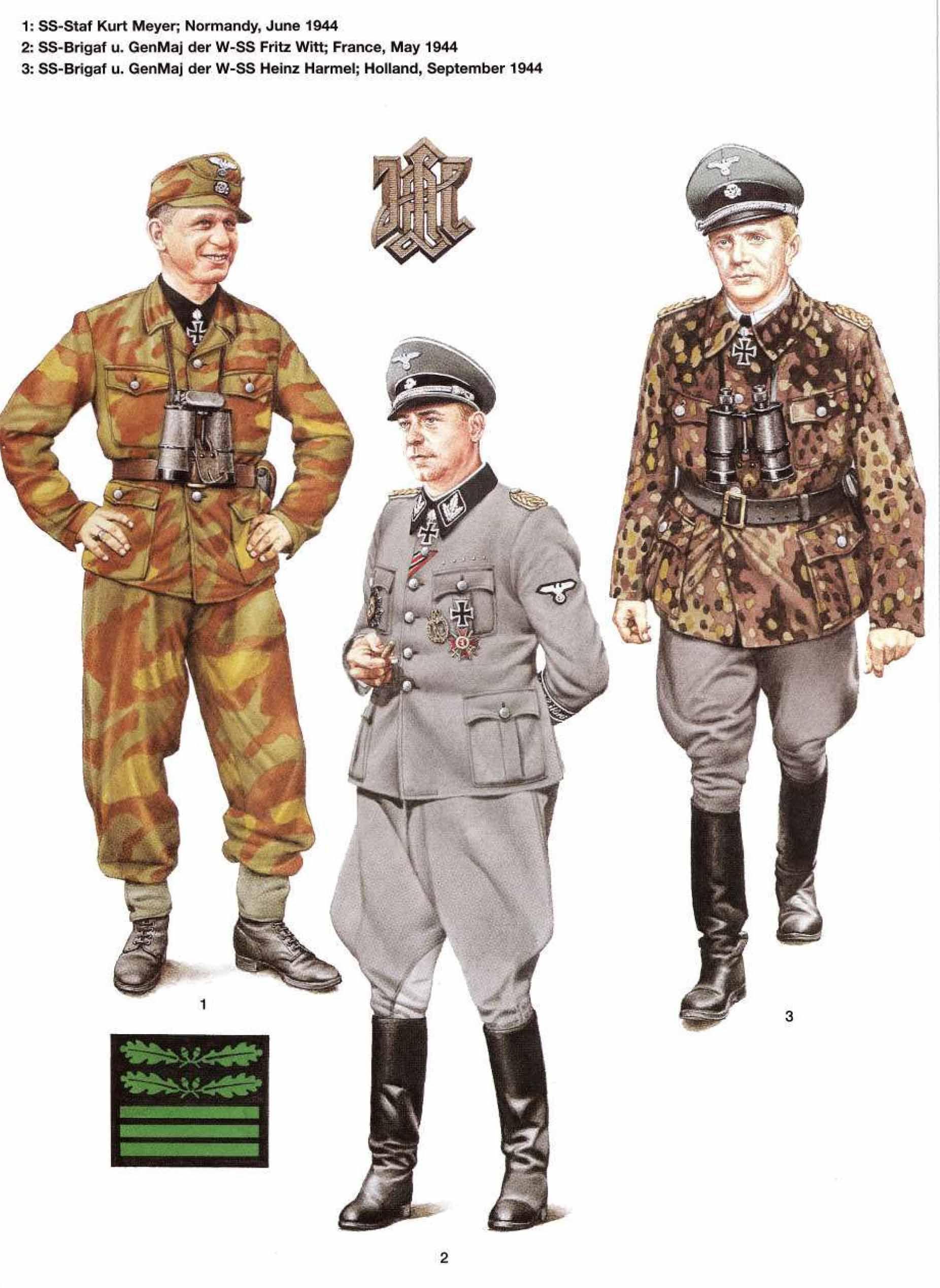 Generals of Waffen SS