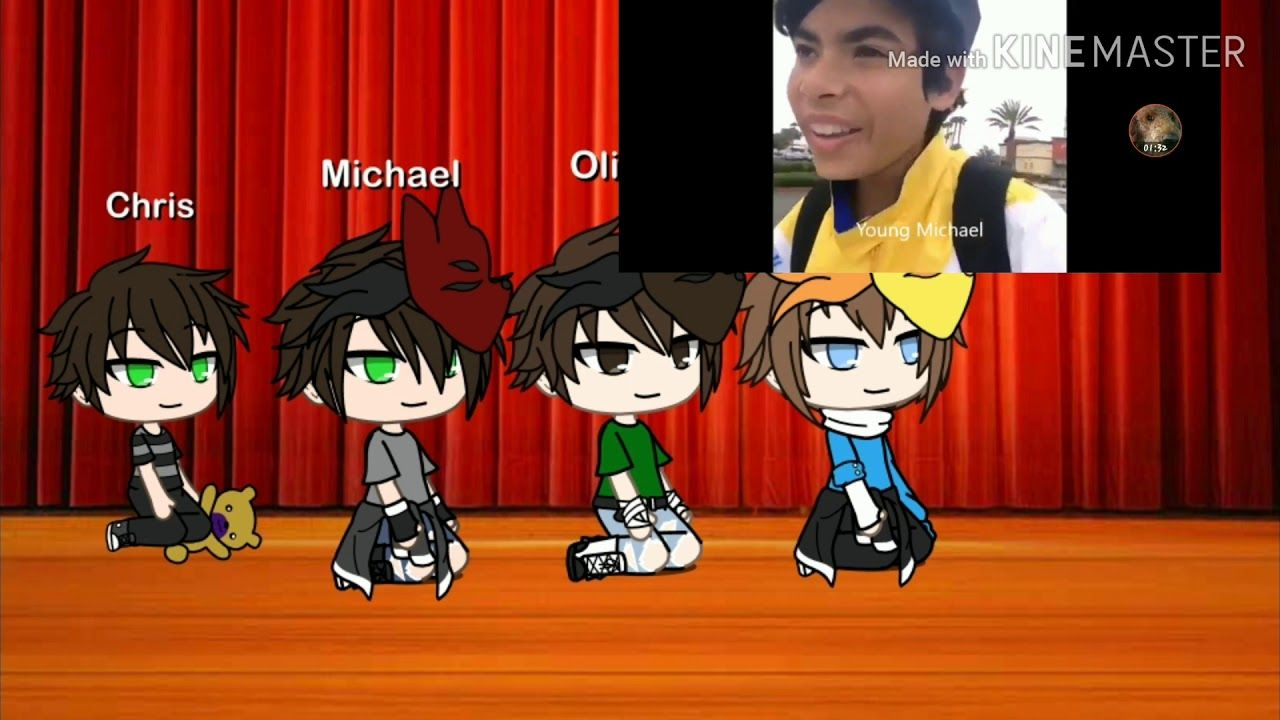 Micheal And His Friends React To Vines Gacha Life Afton Family Fnaf Youtube In 2020 Afton Youtube Chris Young