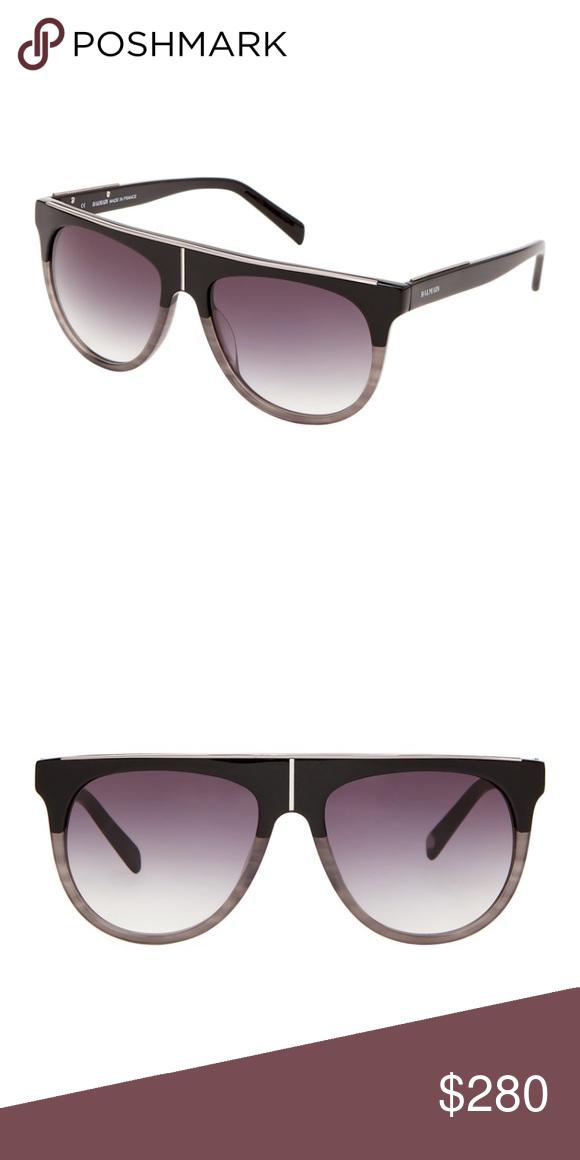 44125b51caf Balmain BL2105 brand new sunglasses aviator 100% authentic Balmain  sunglasses! BL2105 Round flat top