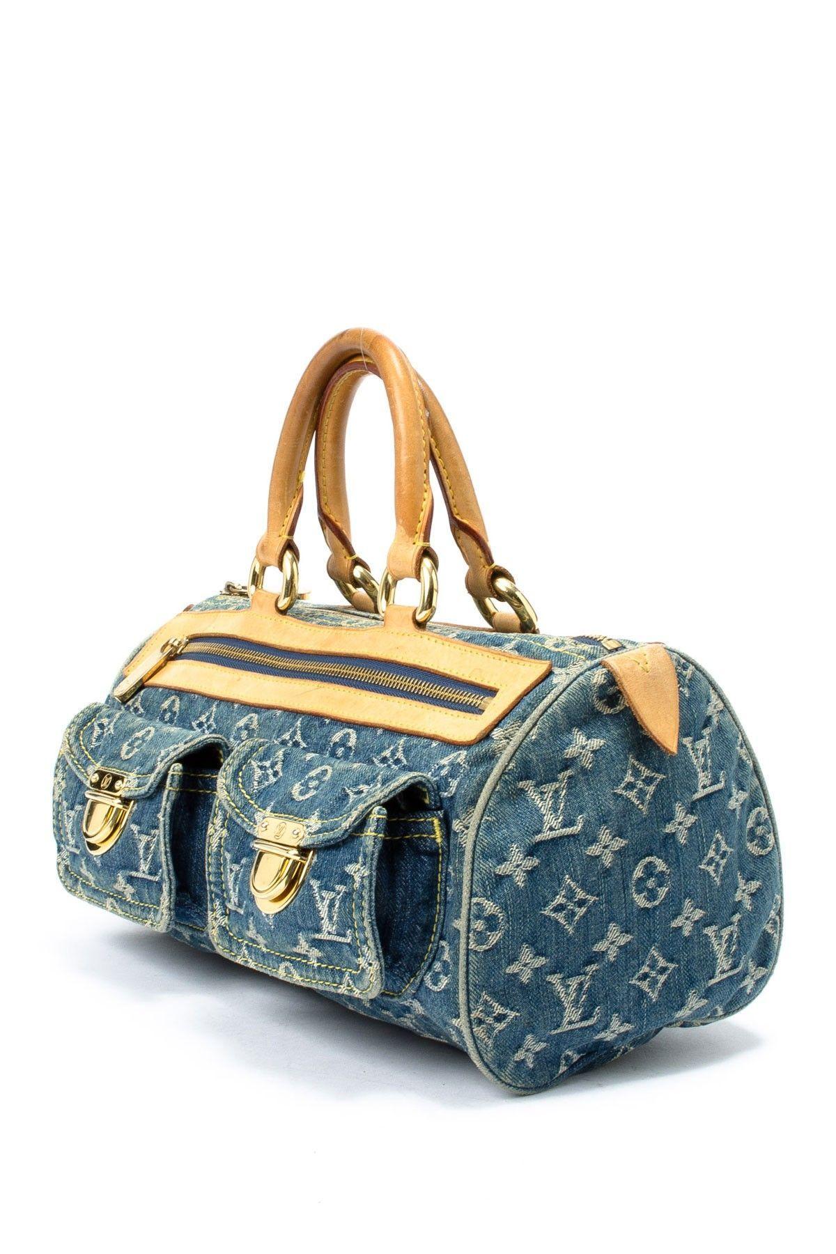 Vintage Louis Vuitton Denim Neo Speedy  ad2806dab6bab