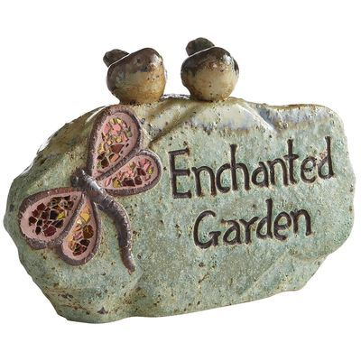 Enchanted Garden Stone