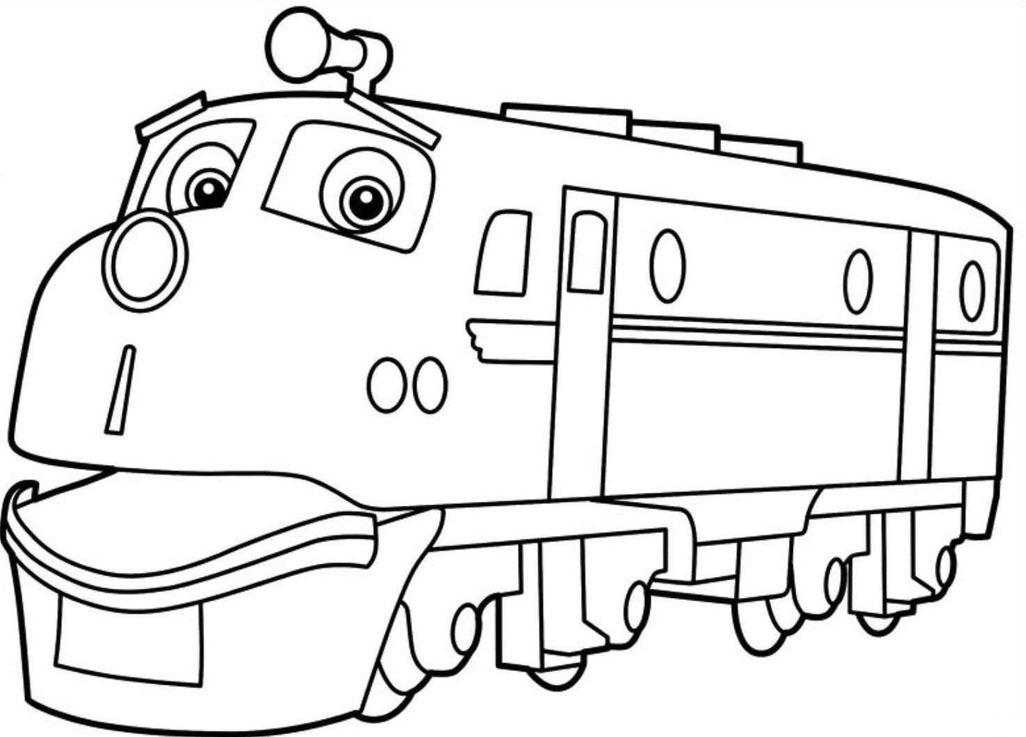 Chuggington Coloring Pages Print | Chuggington Coloring Pages ...