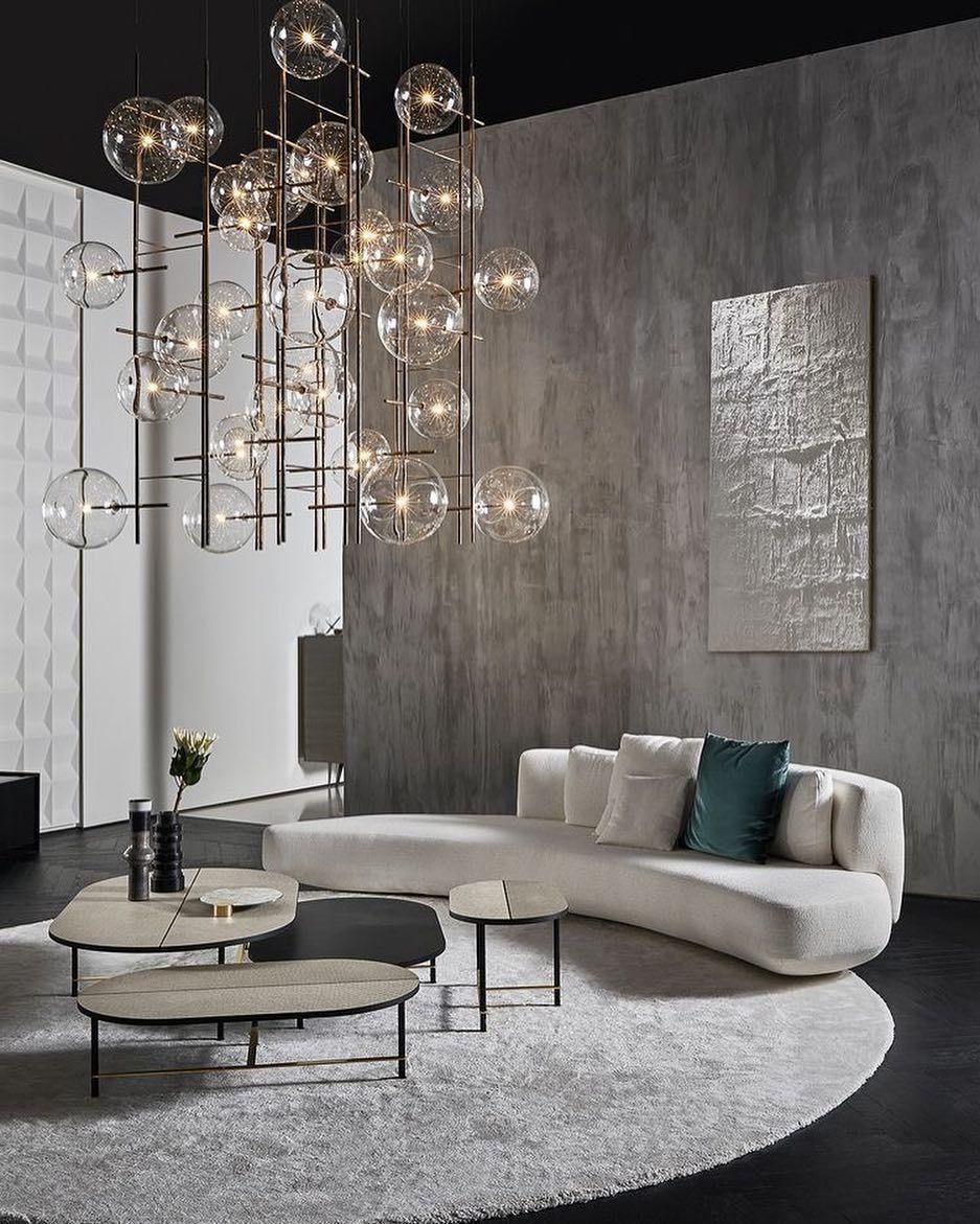 Decoration Salon Moderne De Luxe