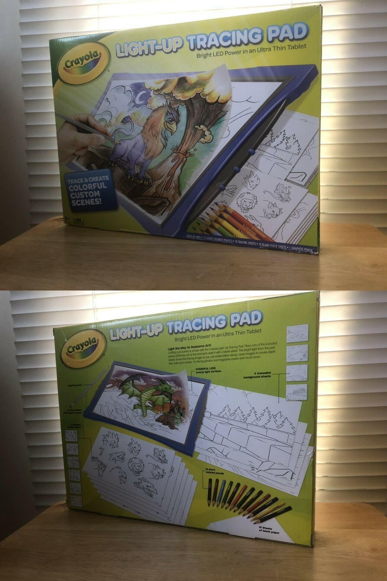 Preschool and Kindergarten 145938: Crayola Light-Up Tracing ...
