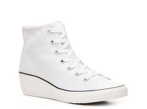 Converse Chuck Taylor All Star Hi-Ness Wedge Sneaker - Womens Women's Sneakers Women's Shoes - DSW