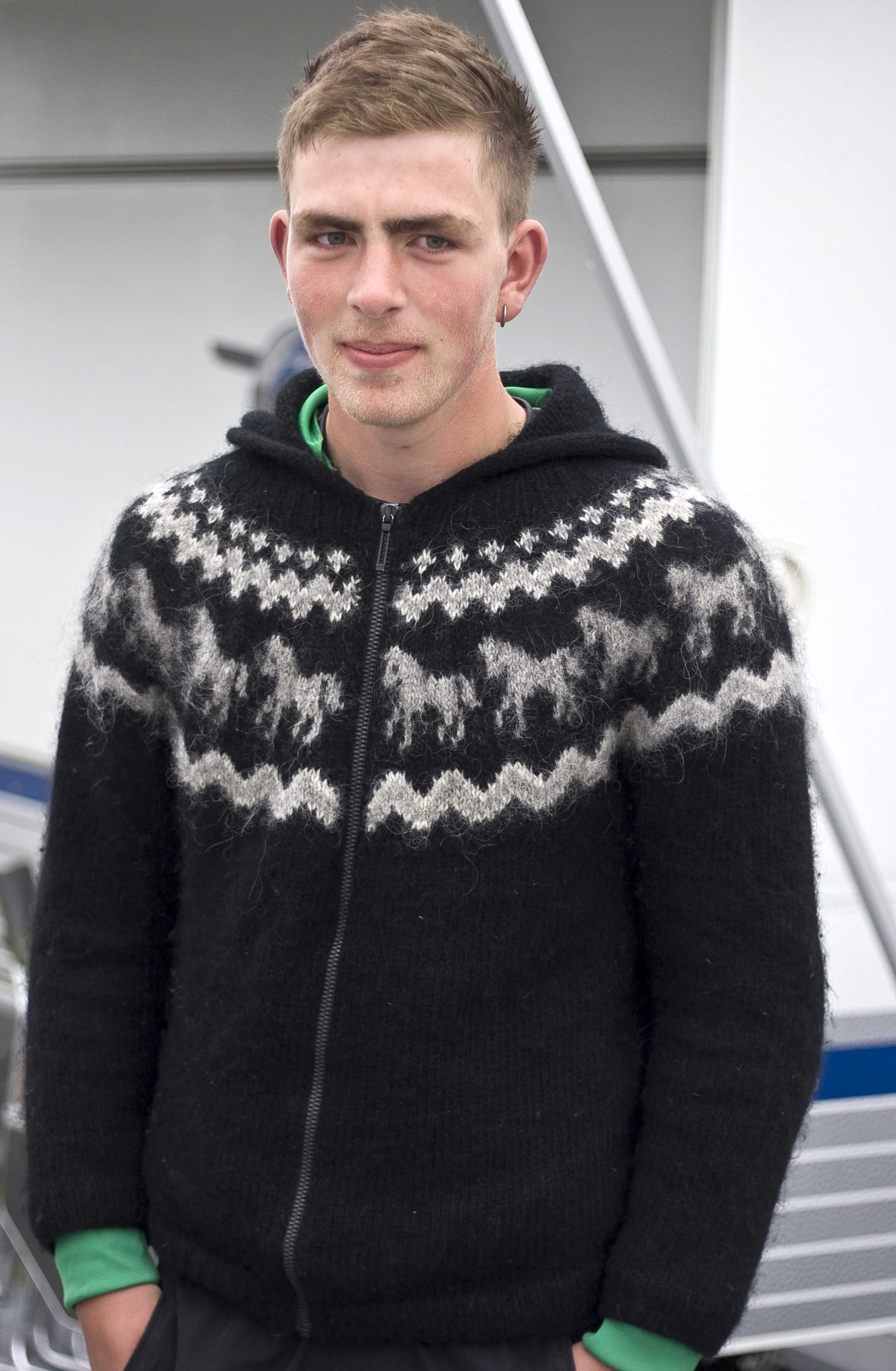 Lopi sweater with horses   Knits for men   Pinterest   Tejidos de ...